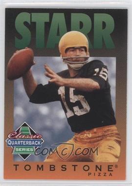 1995 Tombstone Pizza Classic Quarterback Series #10 - Bart Starr