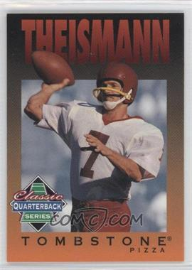 1995 Tombstone Pizza Classic Quarterback Series #11 - Johnny Thomas