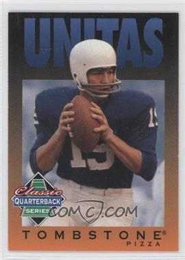 1995 Tombstone Pizza Classic Quarterback Series #12 - Johnny Unitas