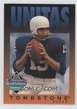 1995 Tombstone Pizza Classic Quarterback Series #12 - Johnny Unitas