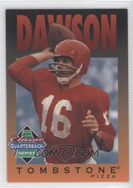 1995 Tombstone Pizza Classic Quarterback Series #3 - Len Dawson
