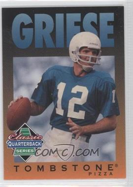 1995 Tombstone Pizza Classic Quarterback Series #5 - [Missing]