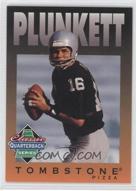 1995 Tombstone Pizza Classic Quarterback Series #8 - Jim Plunkett