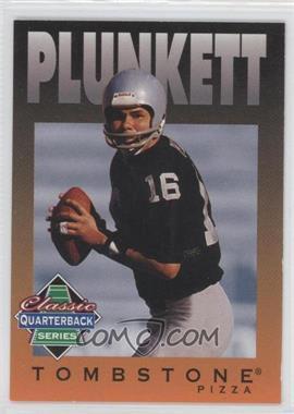 1995 Tombstone Pizza Classic Quarterback Series #8 - Jim Plunkett