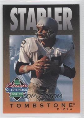 1995 Tombstone Pizza Classic Quarterback Series #9 - Ken Stabler