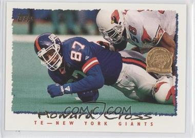 1995 Topps - [Base] - Jacksonville Jaguars Inaugural Season #118 - Howard Cross