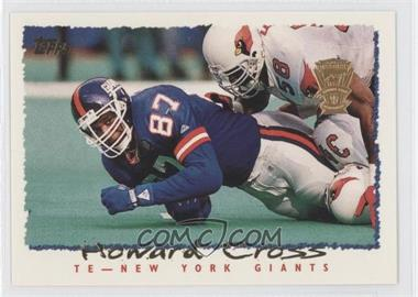 1995 Topps Carolina Panthers Special Inaugural Season #118 - Howard Cross