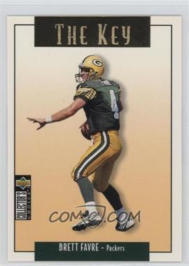 1995 Upper Deck Collector's Choice Update - [Base] - Gold #U73 - Brett Favre