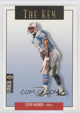 1995 Upper Deck Collector's Choice Update - [Base] - Gold #U80 - Steve McNair