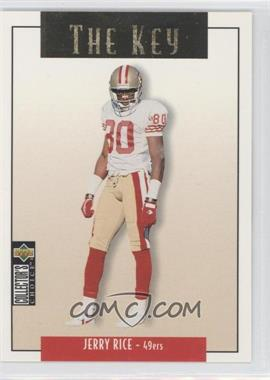 1995 Upper Deck Collector's Choice Update - [Base] - Gold #U84 - Jerry Rice