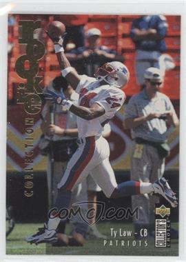 1995 Upper Deck Collector's Choice Update Gold #U40 - Ty Law