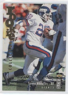 1995 Upper Deck Collector's Choice Update Gold #U43 - Tyrone Wheatley
