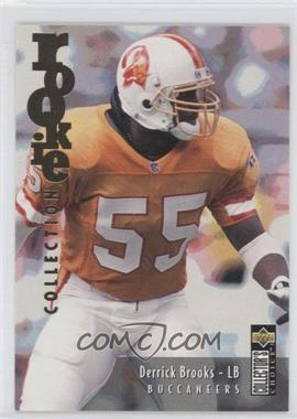 1995 Upper Deck Collector's Choice Update Gold #U59 - Derrick Brooks