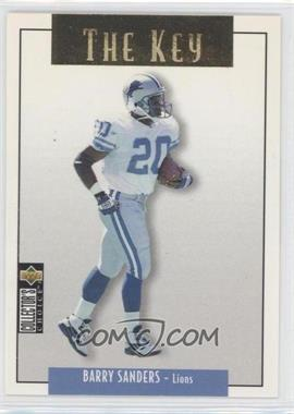 1995 Upper Deck Collector's Choice Update Gold #U62 - Barry Sanders