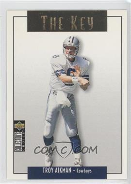 1995 Upper Deck Collector's Choice Update Gold #U64 - Troy Aikman