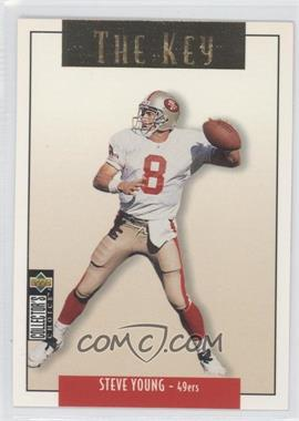 1995 Upper Deck Collector's Choice Update Gold #U65 - Steve Young