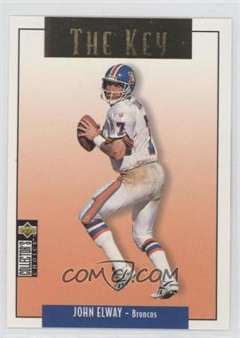 1995 Upper Deck Collector's Choice Update Gold #U67 - John Elway