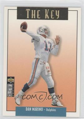 1995 Upper Deck Collector's Choice Update Gold #U68 - Dan Marino