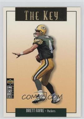 1995 Upper Deck Collector's Choice Update Gold #U73 - Brett Favre