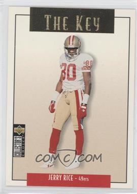 1995 Upper Deck Collector's Choice Update Gold #U84 - Jerry Rice