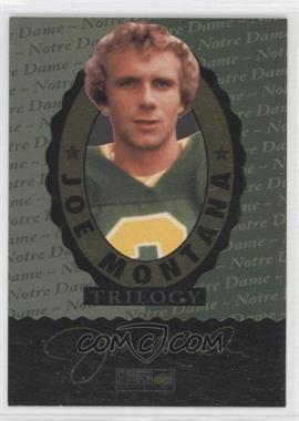 1995 Upper Deck Multi-Product Insert Joe Montana Trilogy #JMND - Joe Montana (Notre Dame)