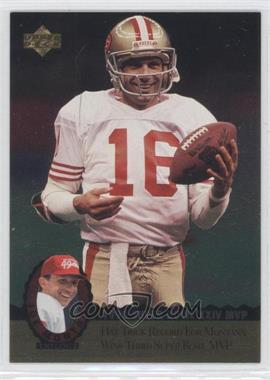 1995 Upper Deck Multi-Product Insert Joe Montana Trilogy #MT14 - Joe Montana
