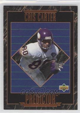 1995 Upper Deck Predictors League Leaders #RP 23 - Cris Carter