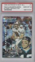 Steve Young, Kerry Collins, Dan Marino [PSA 10]