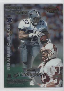 1996 Bowman's Best Mirror Image #4 - Chris Warren, Curtis Martin, Emmitt Smith, Errict Rhett