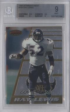 1996 Bowman's Best #164 - Ray Lewis [BGS 9]