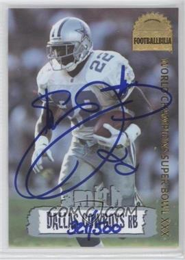 1996 Collector's Edge [???] #DCA-25 - Emmitt Smith /500