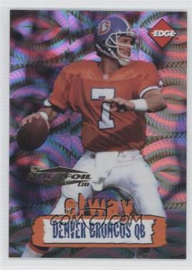 1996 Collector's Edge Holofoil #67 - John Elway /500