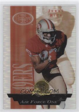 1996 Collector's Edge President's Reserve - Air Force One #28 - Jerry Rice /2500