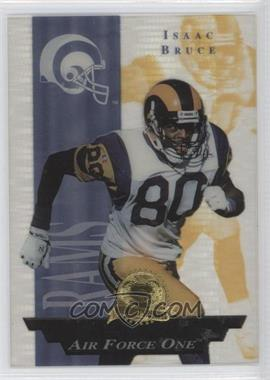 1996 Collector's Edge President's Reserve - Air Force One #29 - Isaac Bruce /2500