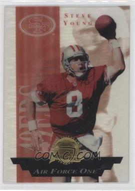 1996 Collector's Edge President's Reserve - Air Force One #3.1 - Steve Young /2500