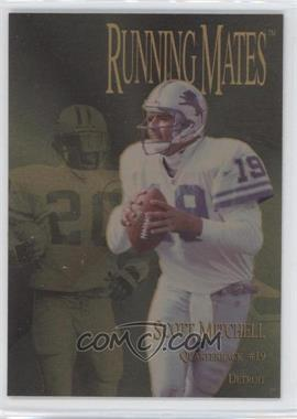 1996 Collector's Edge President's Reserve - Running Mates - Gold #RM15 - [Missing] /100