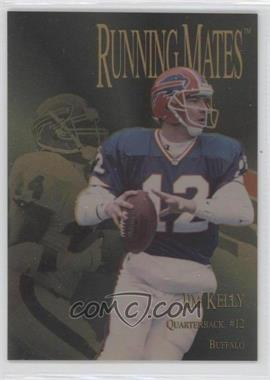 1996 Collector's Edge President's Reserve - Running Mates - Gold #RM23 - Jim Kelly, Darick Holmes /100