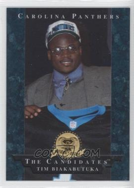 1996 Collector's Edge President's Reserve - The Candidates #4 - Tim Biakabutuka
