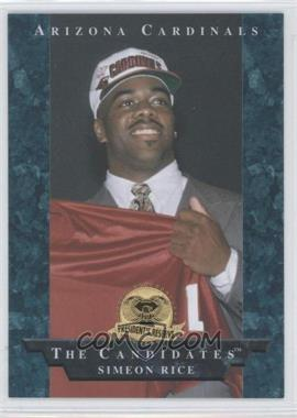 1996 Collector's Edge President's Reserve [???] #1 - Simeon Rice