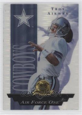 1996 Collector's Edge President's Reserve [???] #19 - Troy Aikman /2500