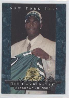 1996 Collector's Edge President's Reserve [???] #22 - Keyshawn Johnson