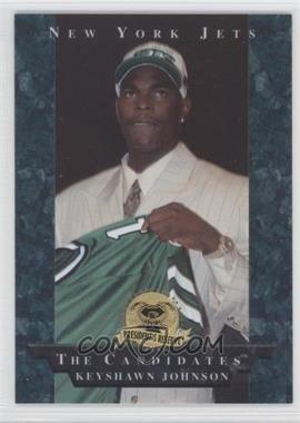 1996 Collector's Edge President's Reserve [???] #22 - Keyshawn Johnson
