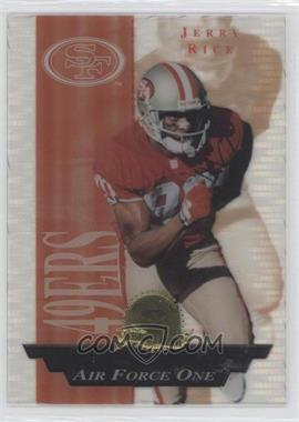 1996 Collector's Edge President's Reserve [???] #28 - Jerry Rice /2500