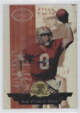 1996 Collector's Edge President's Reserve [???] #3 - Steve Young /2000