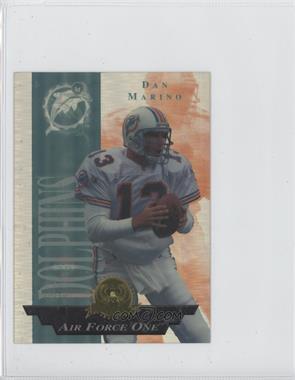 1996 Collector's Edge President's Reserve [???] #4 - Dan Marino /500