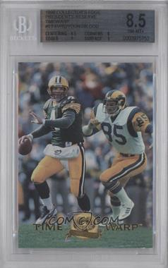 1996 Collector's Edge President's Reserve [???] #6 - Jack Youngblood, Brett Favre /2000 [BGS 8.5]