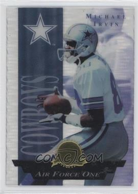 1996 Collector's Edge President's Reserve Air Force One CS Jumbo #8 - Michael Irvin /500
