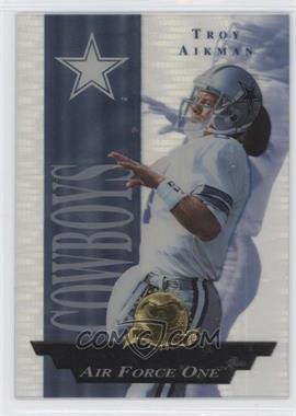 1996 Collector's Edge President's Reserve Air Force One #19 - Troy Aikman /2500