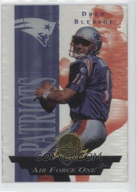 1996 Collector's Edge President's Reserve Air Force One #20 - Drew Bledsoe /2500