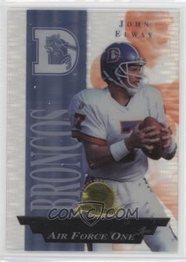 1996 Collector's Edge President's Reserve Air Force One #22 - John Elway /2500